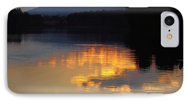 IPhone Case featuring the photograph Golden Sunset by Vilas Malankar