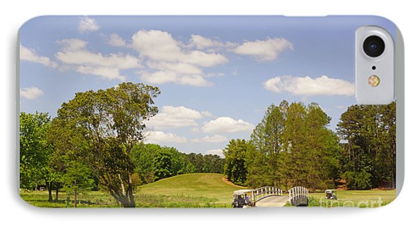 Golf At Calloway Gardens IPhone Case by J Jaiam