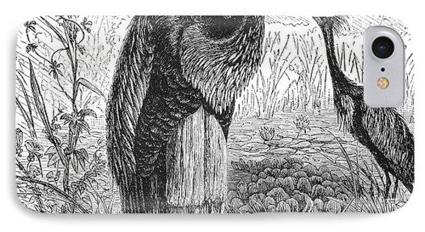 Goliath Heron Phone Case by Granger