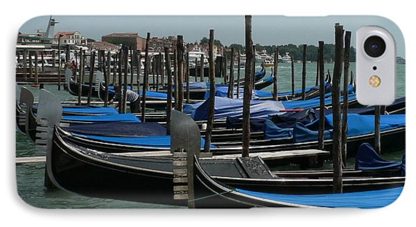 IPhone Case featuring the photograph Gondolas by Laurel Best