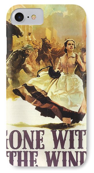 Gone With The Wind Phone Case by Georgia Fowler