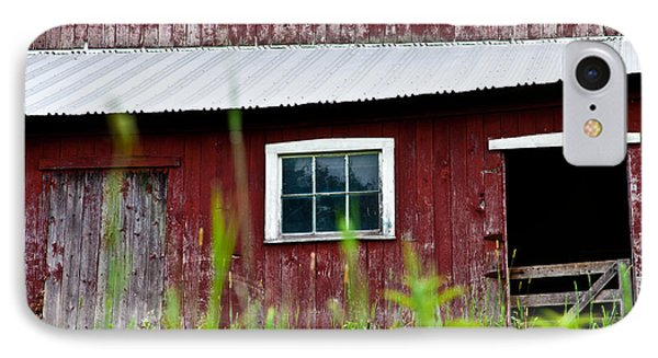 Good Ole Red Barn Phone Case by Karol Livote