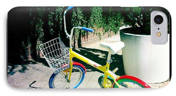 Google Mini Bike IPhone Case by Nina Prommer