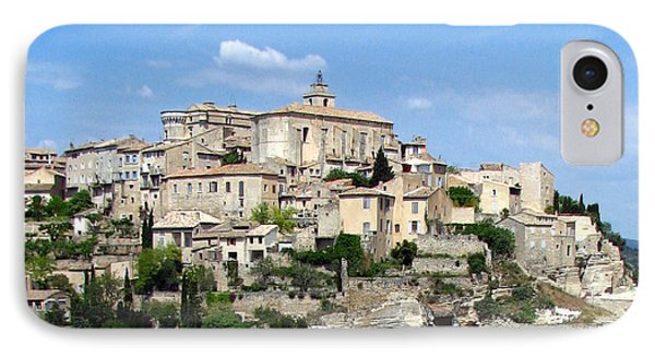 IPhone Case featuring the photograph Gordes In Provence by Carla Parris