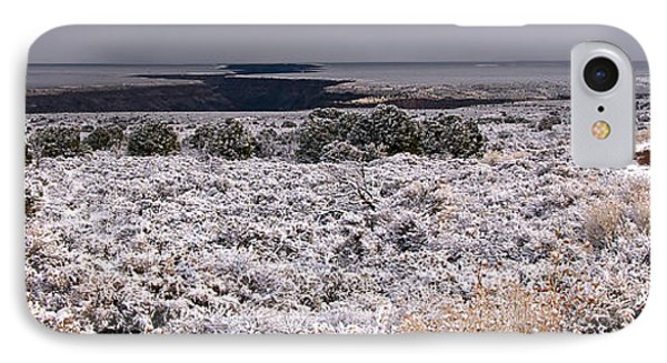 IPhone Case featuring the photograph Gorge Snow by Britt Runyon