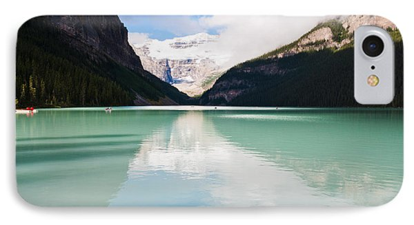 Gorgeous Lake Louise IPhone Case by Cheryl Baxter