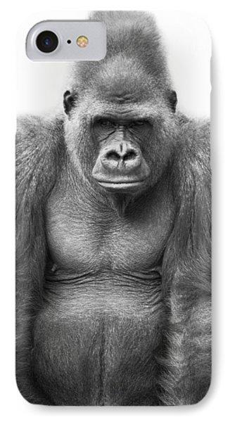 Gorilla Phone Case by Darren Greenwood