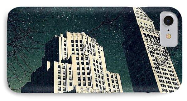 Gotham City Metlife IPhone Case by Natasha Marco