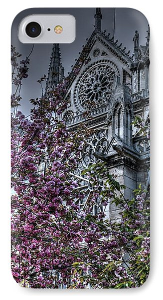Gothic Paris Phone Case by Jennifer Ancker