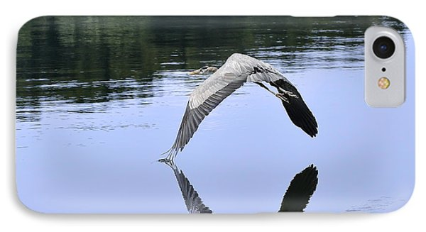 IPhone Case featuring the photograph Graceful Heron by Nava Thompson