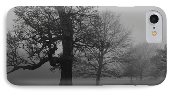 IPhone Case featuring the photograph Gradual Trees by Maj Seda