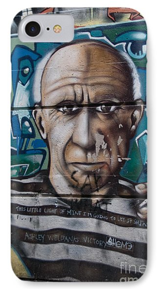 IPhone Case featuring the digital art Graffii Alley by Carol Ailles