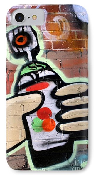 Graffiti 4 Phone Case by Sophie Vigneault