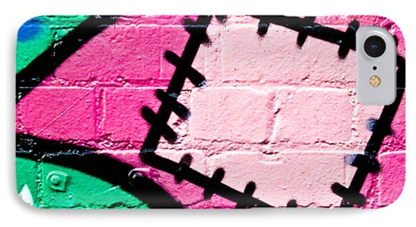 Graffiti Patch Closeup IPhone Case