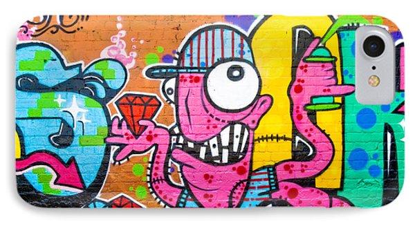 Graffiti Spray-worm Phone Case by Yurix Sardinelly