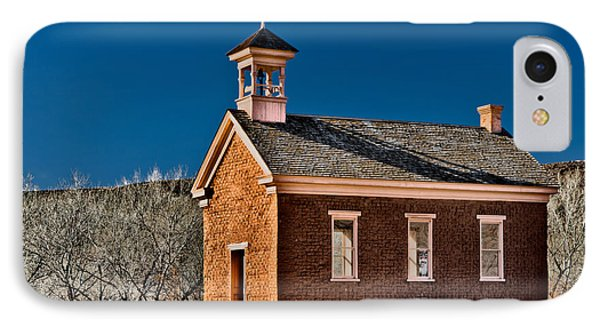 Grafton Schoolhouse Phone Case by Christopher Holmes