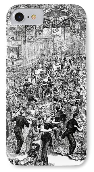 Grand Ball, New York, 1877 Phone Case by Granger
