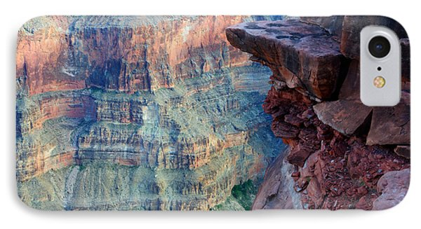 Grand Canyon A Place To Stand Phone Case by Bob Christopher