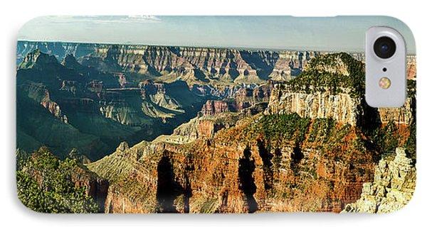Grand Canyon Angel Panorama Phone Case by Bob and Nadine Johnston
