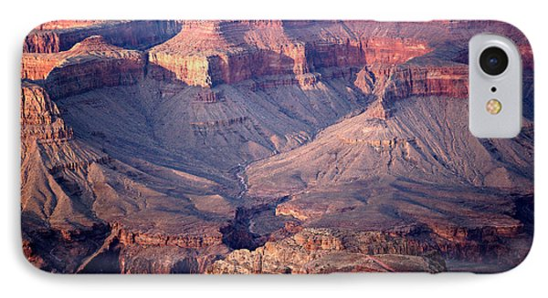 Grand Canyon Evening Interior Phone Case by Michael Kirsh