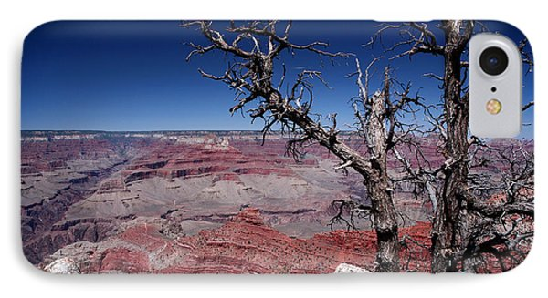 IPhone Case featuring the photograph Grand Canyon Number One by Lon Casler Bixby