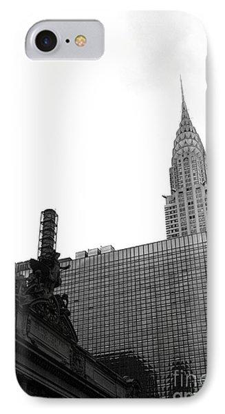 Grand Central-grand Hyatt-chrysler Phone Case by David Bearden