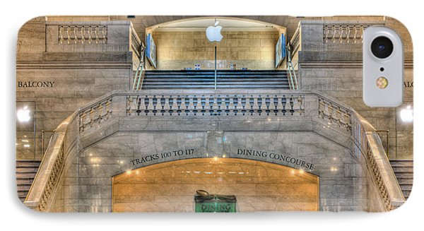 Grand Central Terminal East Balcony I Phone Case by Clarence Holmes