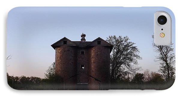 IPhone Case featuring the photograph Grand Old Silo by Gerald Strine