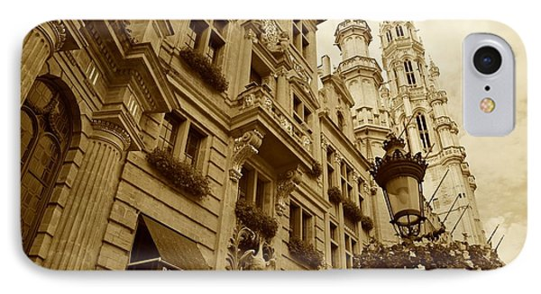 Grand Place Perspective Phone Case by Carol Groenen