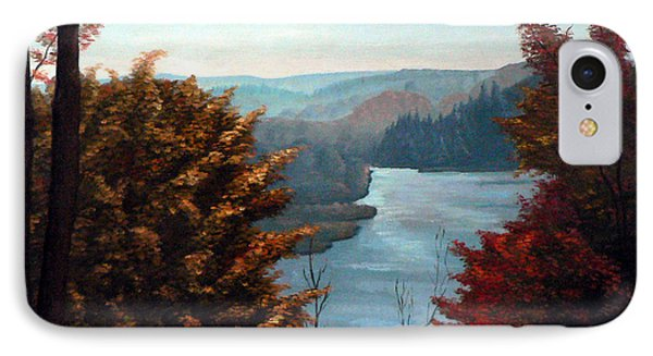 Grand River Look-out Phone Case by Hanne Lore Koehler