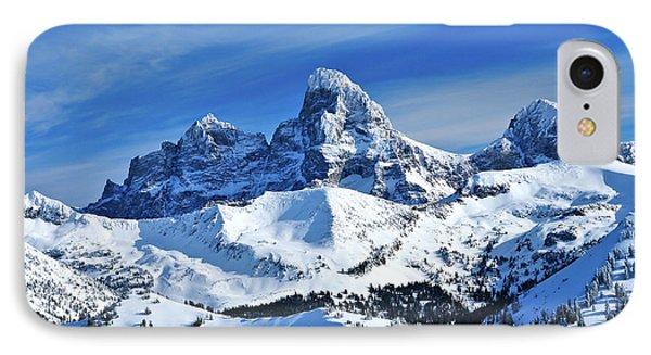 Grand Teton Winter IPhone Case