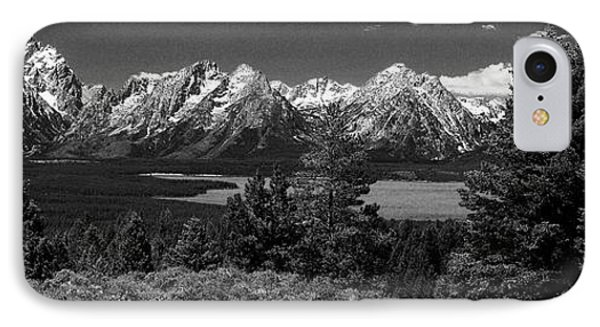 IPhone Case featuring the photograph Grand Tetons by Dan Wells