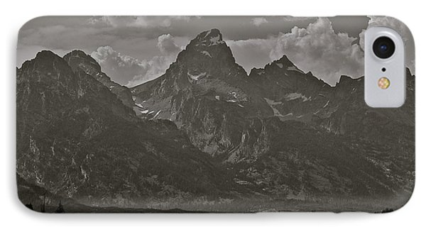 IPhone Case featuring the photograph Grand Tetons by Eric Tressler