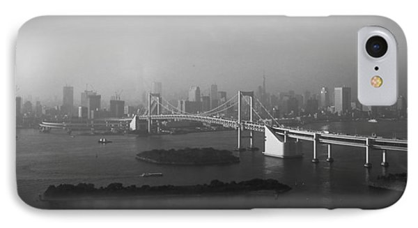 Grand View Of Tokyo IPhone Case by Naxart Studio