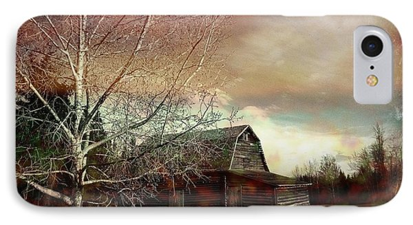 Grandpa's Barn Phone Case by Shirley Sirois