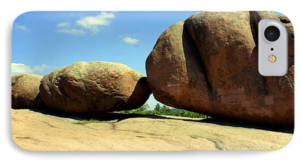 Granite Boulders 2  Phone Case by Marty Koch