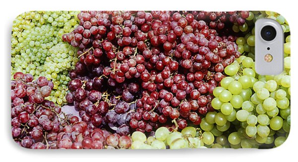Grapes At A Market Stall IPhone Case