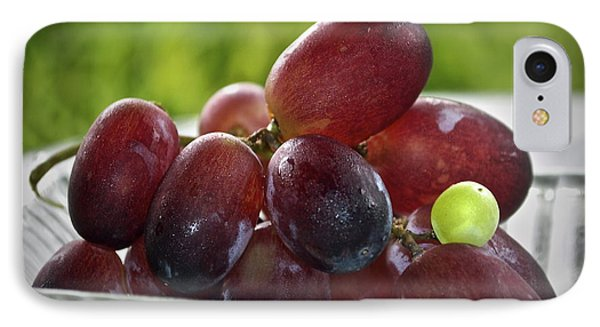 Grapes Phone Case by Gwyn Newcombe