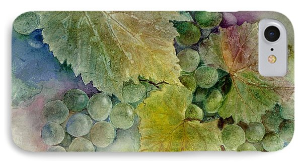 Grapes II Phone Case by Judy Dodds