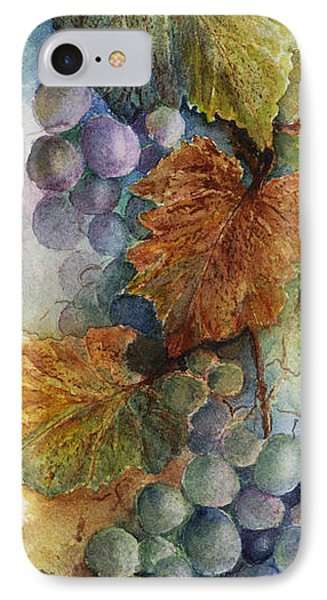 Grapes Iv Phone Case by Judy Dodds