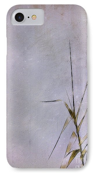 Grass And Wall Phone Case by Judi Bagwell