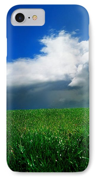 Grassy Field, Ireland Phone Case by The Irish Image Collection