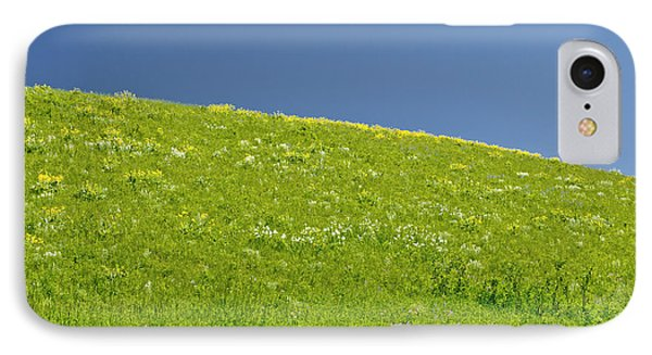 Grassy Slope View Phone Case by Roderick Bley