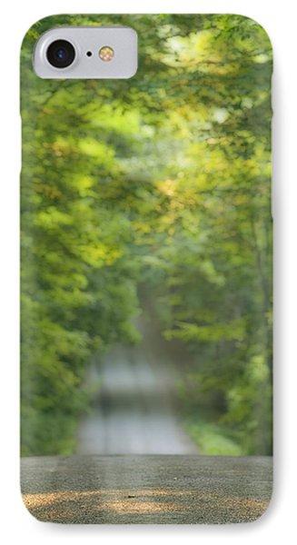 Gravel Road, Niagara Region, Pelham Phone Case by Darwin Wiggett
