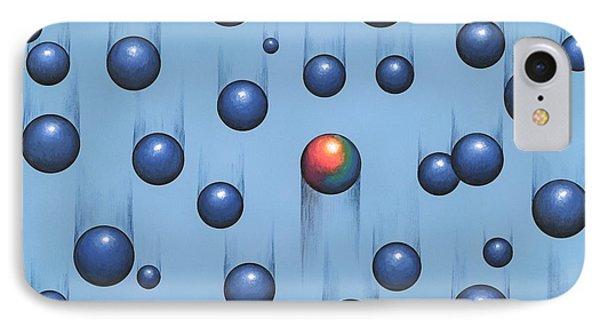 Gravity, Conceptual Artwork Phone Case by Richard Bizley
