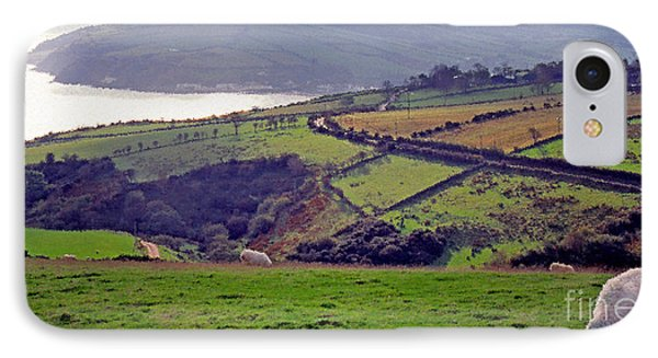 Grazing Sheep County Antrim IPhone Case by Thomas R Fletcher