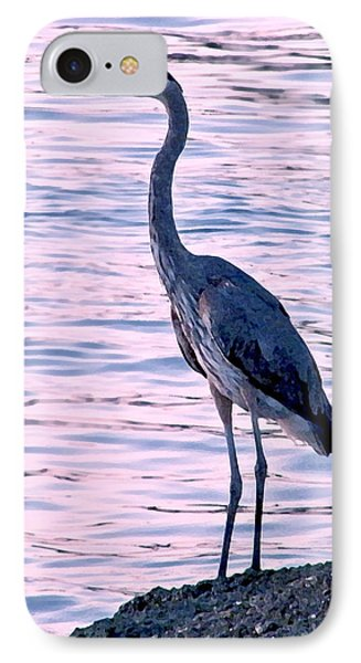 IPhone Case featuring the photograph Great Blue Heron by Brian Wright