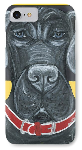 Great Dane Poster IPhone Case by Ania M Milo