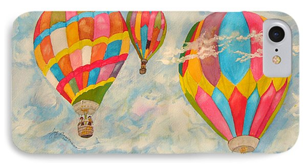 IPhone Case featuring the painting Great Day To Fly by Joy Braverman