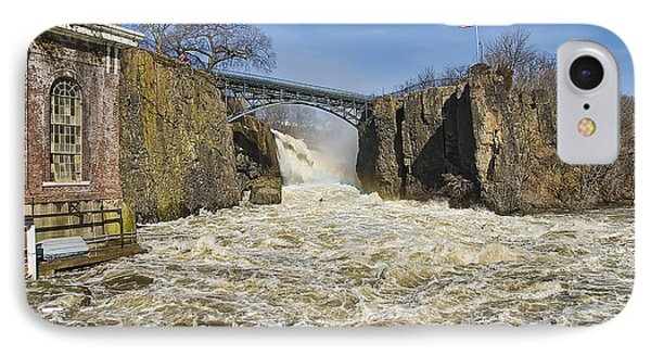 Great Falls Of Paterson    IPhone Case
